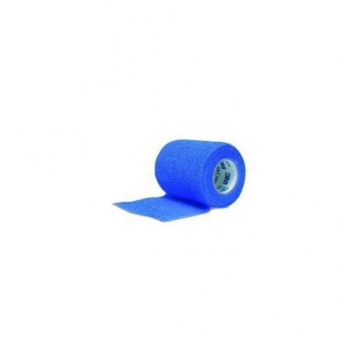 BANDE COHESIVE VELPEAU PRESS 3.5mx10cm BLEUE