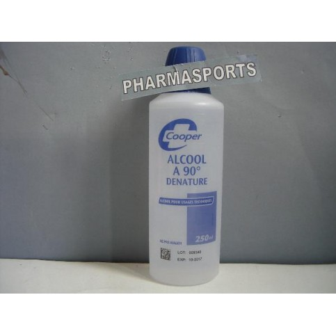 ALCOOL 90 DENATURE 125 ML