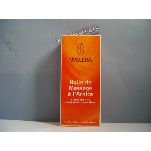 LOT DE 2 HUILE DE MASSAGE WELEDA A L'ARNICA 200 ML