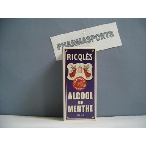 LOT DE 2 ALCOOL DE MENTHE