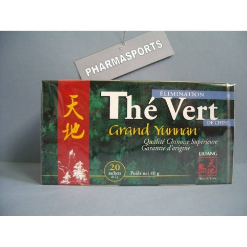 LOT DE 2 THE VERT DE CHINE SACHETS