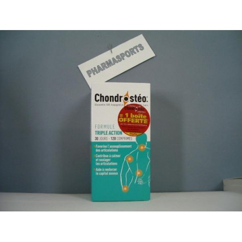 LOT DE 2 CHONDROSTEO + CPR 120 - EAFIT