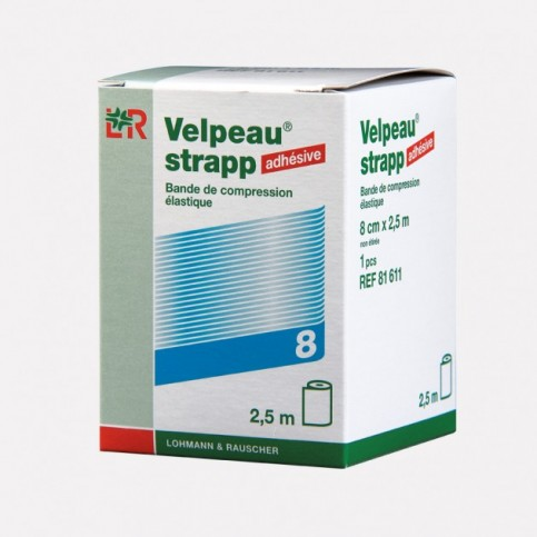 BANDES DE STRAPPING VELPEAU STRAPP 2.5mx8cm