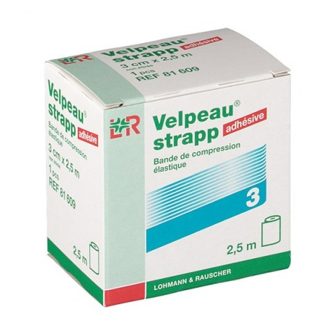 BANDES DE STRAPPING VELPEAU STRAPP 2.5mx3cm